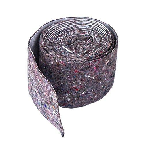 Stabilo-Sanitaer Rolle Wickelvlies Vlies Isolierstreifen 70mm selbstklebend Wickelfilz Vliesstreifen Filzband Isoliervlies Heizung