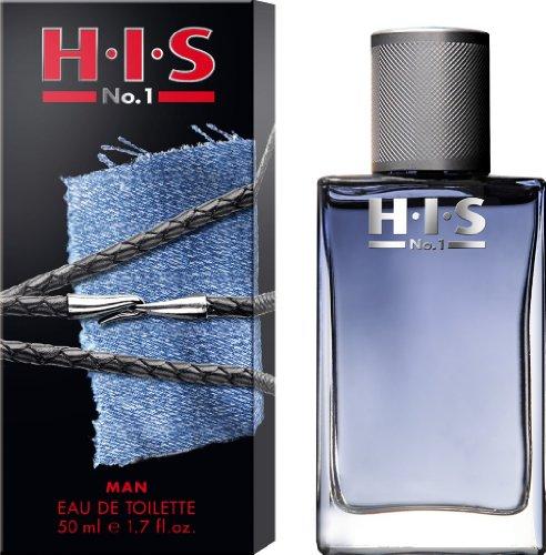 1. Parfüm (H.I.S  No.1 man Eau de Toilette, 50 ml)