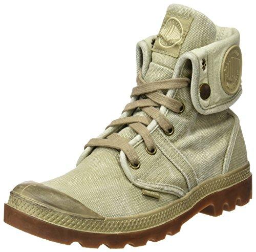 Palladium Damen Us Baggy W F Hohe Sneaker,Grün (463 Amond Buff/Grn), 42 (Sneaker Guard)