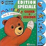 TOUT LE PROGRAMME MATERN. GS AVEC CD    (Ancienne Edition)