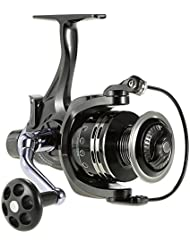 Docooler Moulinet Casting 11 + 1BB Roulements à Billes 4: 7: 1 Gauche / Droite Interchangeable Ultra Smooth Spinning Reel Fishing