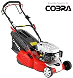 "COBRA RM40SPC 16"" Self Propelled Petrol Rear Roller Lawnmower."