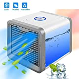 Jukkre Mini Portable Air Cooler Fan Arctic Air Personal Space Cooler The Quick