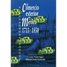 El comercio exterior de México, 1713-1850