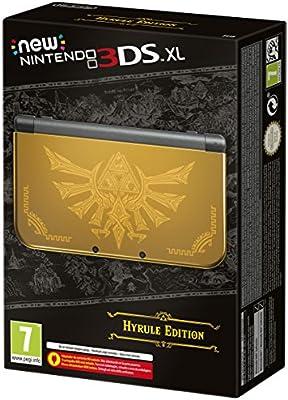 New Nintendo 3DS - Consola XL, Edición Hyrule Limitada