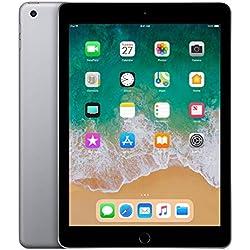 """Apple iPad, 9,7"""" met WiFi, 128 GB, 2018, Spacegrijs"""