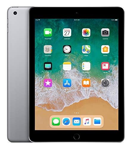 "Apple iPad, 9,7"" mit WiFi, 128 GB, 2018, Space Grau"