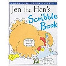 Jen the Hen Scribble Book