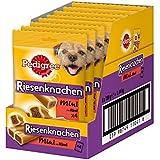 Pedigree Riesenknochen Mini mit Rind Hundesnacks, 8er Pack (8 x 180 g)