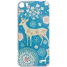 Guran® Silicona Funda Carcasa para Doogee F3 / F3 Pro Smartphone Bumper TPU case Cover-Ciervo
