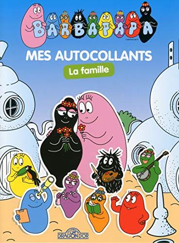 Barbapapa Mes autocollants, La Famille par Alice Et Thomas TAYLOR
