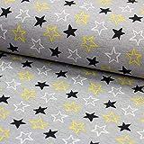 Brittschens Stoffe und Zutaten Stoff Softshell | grau