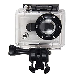 Mochalight – Custodia sostitutiva impermeabile per fotocamera GoPro HD HERO e HD HERO2