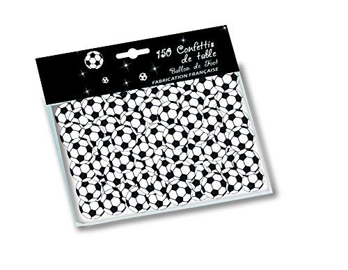 Deco Party UK 150 Fußball-Konfetti 25mm