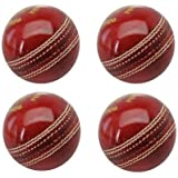 Genuine Tima Leather Cricket Ball Standard International Size Set Of 4 By SK Sports