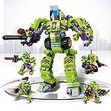 AOTE-D Auto Deformation Split Kombination DIY Roboter Waffe Tank 4 Stück Set Spielzeug Kind Junge Mädchen Geschenk