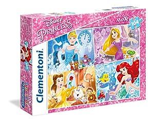 Clementoni - Maxi Puzzle de 104 Piezas Princess (23703)