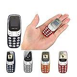 MINI TELEFONO CELLULARE FUNZIONANTE PORTATILE TASCABILE L8 STAR BM10 DUAL SIM GSM BLUETOOTH (ARANCIONE)