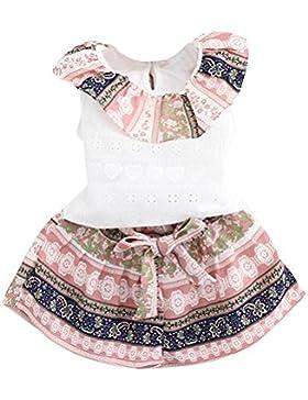 Blusas de niñas, FAMILIZO Bebés Niñas El NiñO Del Verano De Las Muchachas De Los Cabritos Arropa La Camiseta Tops...