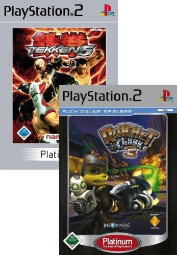 Tekken 5 / Ratchet & Clank 3 (Platinum Double Pack) (Tekken 3 Ps2)