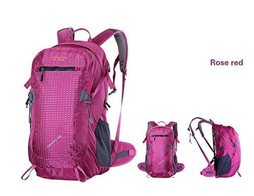 50L Bergsteigen Rucksack Männer Berg Pack Tasche Frauen Wasserdicht Mountain-Reisen Camping Bag Kletter 8