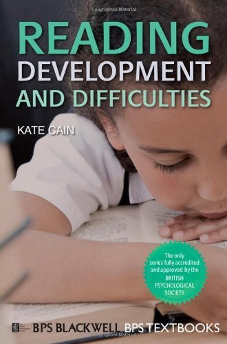 Reading Development and Difficulties: An Introduction (BPS Textbooks in Psychology) by Cain, Kate Published by John Wiley & Sons (2010)