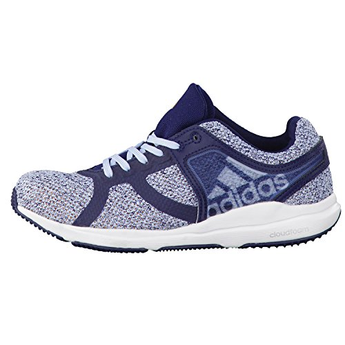 adidas Damen Trainingsschuhe CrazyTrain CF W collegiate navy/core blue s17/solar gold