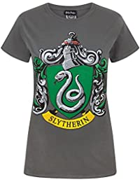 Harry Potter - Camiseta Slytherin Mujer
