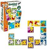 Diset- Dominó Animales y Puntos 3 años Juguete educativos Animals...