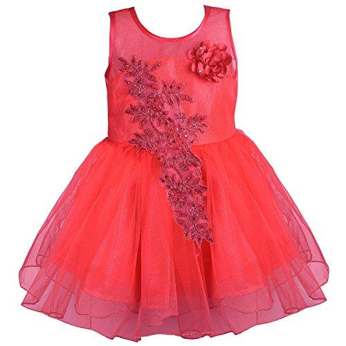 c940f1a1edd2e 27% OFF on Wish Karo Baby Girls Net Partywear Frock Dress - (fe1051) on  Amazon   PaisaWapas.com