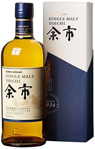 NIKKA Yoichi Single Malt Whisky (1 x 0.7 l) in Geschenkverpackung