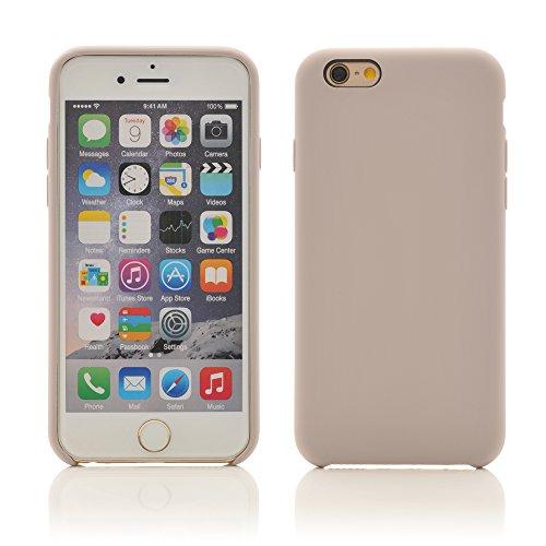 iProtect TPU Schutzhülle Apple iPhone 6, 6s Soft Case in matt Rosa Flieder