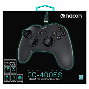 nacon Joypad PC Pro Gaming Controller GC-400ES Alpha Pad
