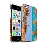 Stuff4 Clipser Brillant Coque de Coque pour Apple iPhone 5C / Tiki/Plage Design/Thaïlande Paysage Collection