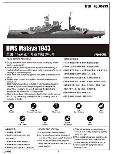 Zoom IMG-3 trumpeter modellino nave da guerra