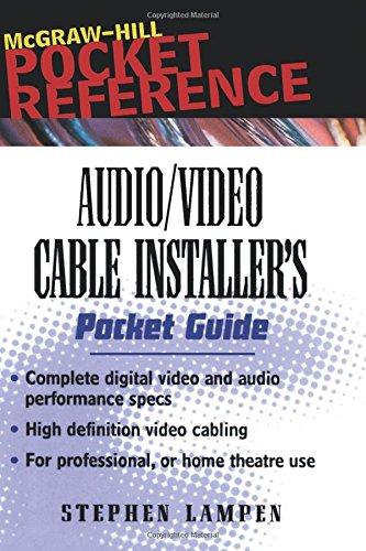 Preisvergleich Produktbild Audio/Video Cable Installer's Pocket Guide (McGraw-Hill Pocket Reference)