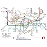 London Underground Map Poster (139.70 x 99.06 cm)