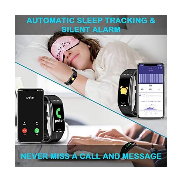 Pulsera Actividad Hombre Mujer - Pulsera Actividad Inteligente Reloj GPS Temporizador Podómetro Pulsómetro Impermeable IP68 Pulsera Deportiva Smartwatch Para Xiaomi Samsung Huawei Android iPhone iOS 6