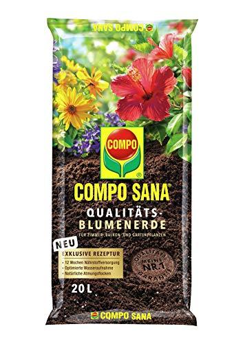 COMPO SANA® Qualitäts-Blumenerde 20 L