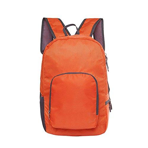 Wandern Rucksäcke, Taschen, Wander-Taschen, Outdoor-Taschen, wasserdicht Ultra light Rucksack Rucksack Rucksack Rucksack Orange