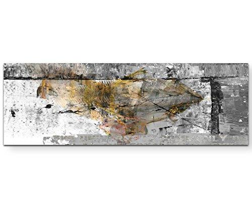 Sinus Art Wir sind die Guten Wandbild auf Leinwand Enigma Serie 150x50cm (Bild-serie)