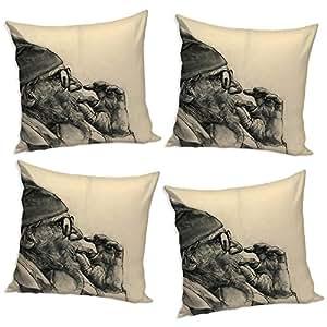 Sleep Nature's Cushion Covers Set of 4 (16x16 inch)