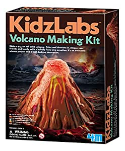 Dam SPRL Loisirs créatifs - Volcan à mouler en platre