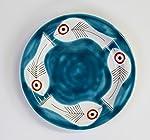 Ceramiche De Simone Piatto mangiallegro -decoro itaca