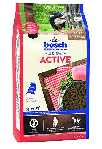 bosch Hundefutter Active 1 kg, 5er Pack (5 x 1 kg)