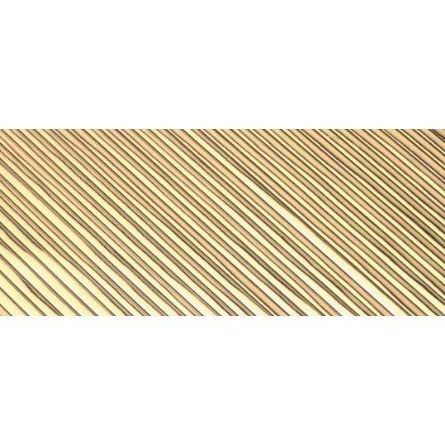 bastelkoerble Verzierwachs - Wachsstreifen Gold flach glänzend 200 x 1 mm 30 Stück