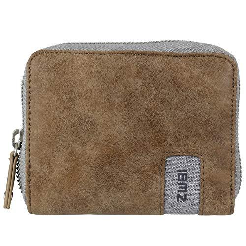 Zwei Geldbörse Brieftasche Geldbeutel OW1-z Portemonnaie Kunstleder, Farben Taschen:Ice