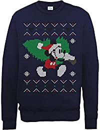 Brands In Limited Mickey Mouse Christmas Tree-sudadera Hombre
