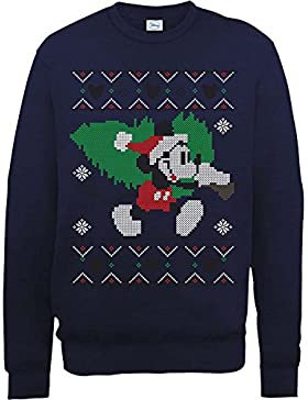 Brands In Limited Mickey Mouse Christmas Tree, Felpa Uomo