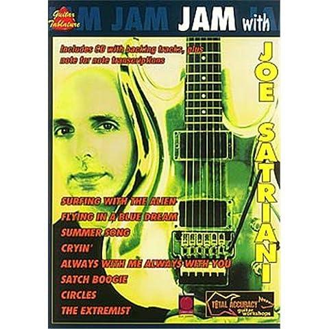 Jam With Joe Satriani. Sheet Music, CD for Guitar Tab(with Chord Symbols)